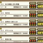 【花騎士】12-5がクリアできるレベルってどのくらい?